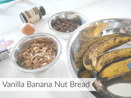 RECIPE | Vanilla Banana Nut Bread
