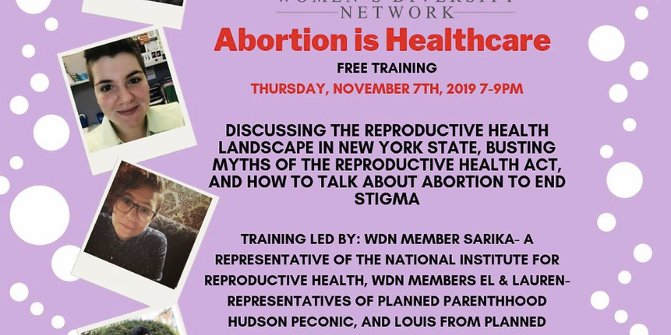 Abortion is Healthcare Training