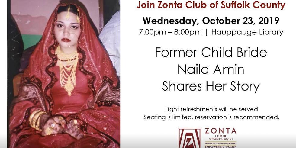 Former Child Bride Naila Amin Shares Her Story