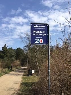 Nye 20 km-skilte pr. 2021