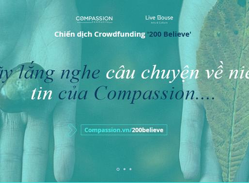 [200 Believe] Danh Sách 'Believer' - Những Người Đã Đặt Niềm Tin Vào Compassion