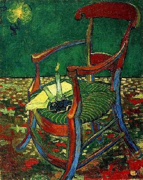 Gauguin's chair (December 1888 - 1888) by Vincent van Gogh Van Gogh Museum