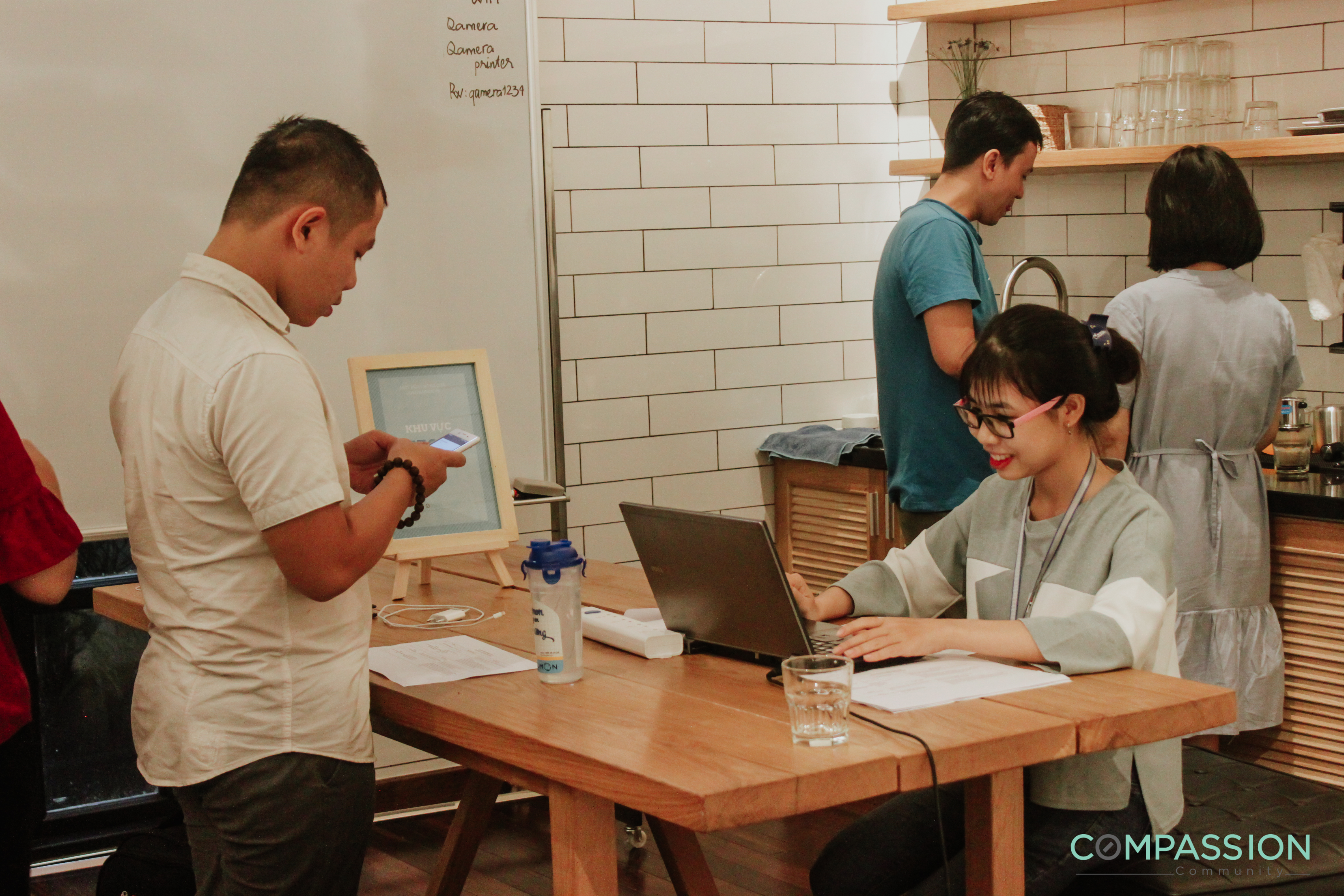 Compassion Hub tại Qspace