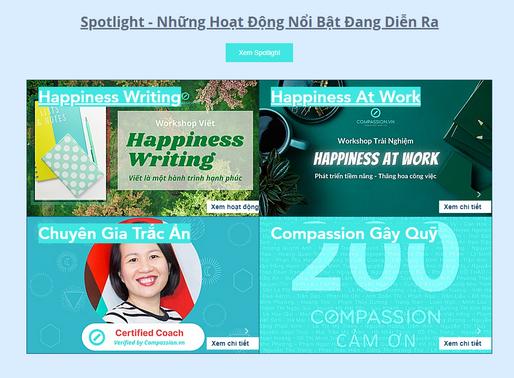 Compassion Spotlight: Những Hoạt Động Nổi Bật Trên Compassion.vn