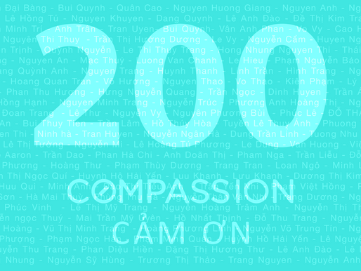 200 - Compassion Đạt Mốc 200 Bài Đăng