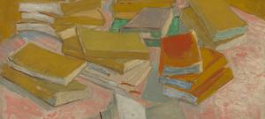 Piles of French novels (October 1887 - November 1887) by Vincent van Gogh Van Gogh Museum