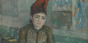 In the café: Agostina Segatori in Le Tambourin (January 1887 - March 1887) by Vincent van Gogh Van Gogh Museum