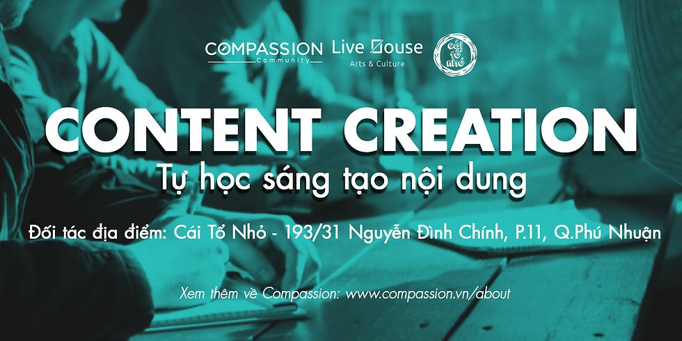 Content Creation - Chương Trình Tự Học Sáng Tạo Nội Dung