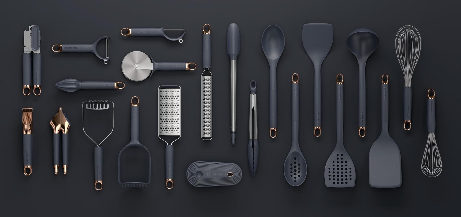 Click Clack Kitchen Tools