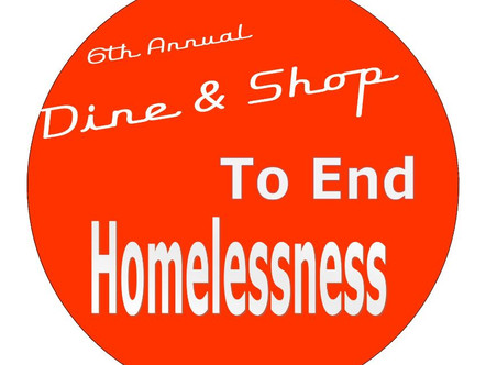 2020 Dine & Shop to End Homelessness - February 6th!