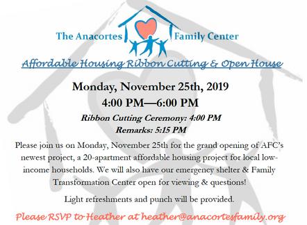 Ribbon Cutting! November 25th at 4-6PM