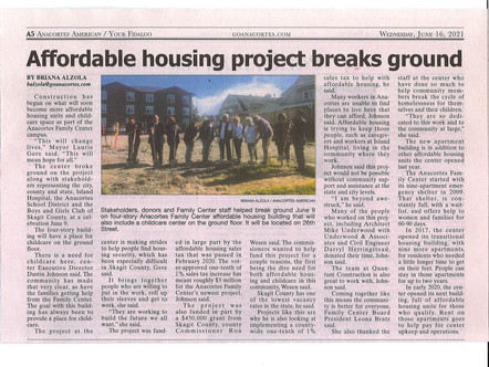 AFC Groundbreaking - The Landing Apartments