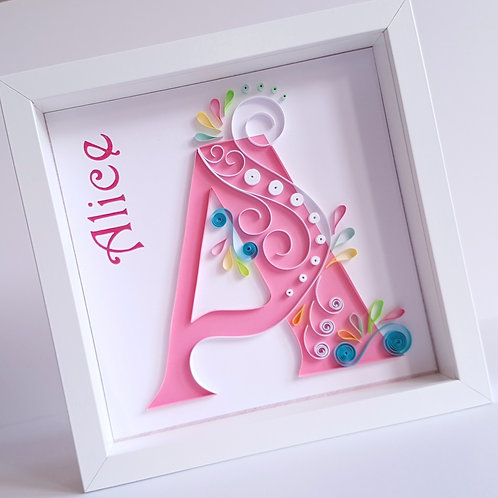 Swirl Monogram with Name