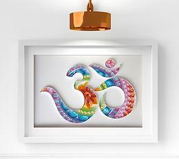 Aum Mandala Quilling Wall Art (OM)