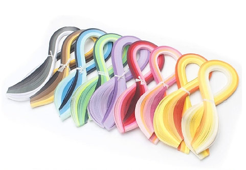 Quilling Paper Strips Set - 45 colours (5mm)