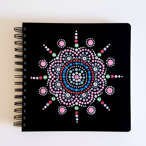 Dot Art Mandala Notebook