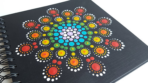 Hand Painted Notebook - DotArt