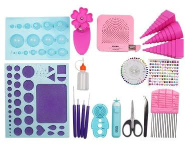 Paper Quilling Tools Kit (20 piece kit)
