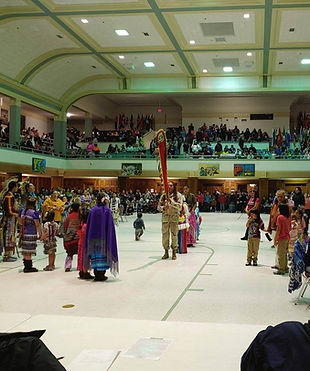 Cultural event at the Coliseum of Sioux Falls
