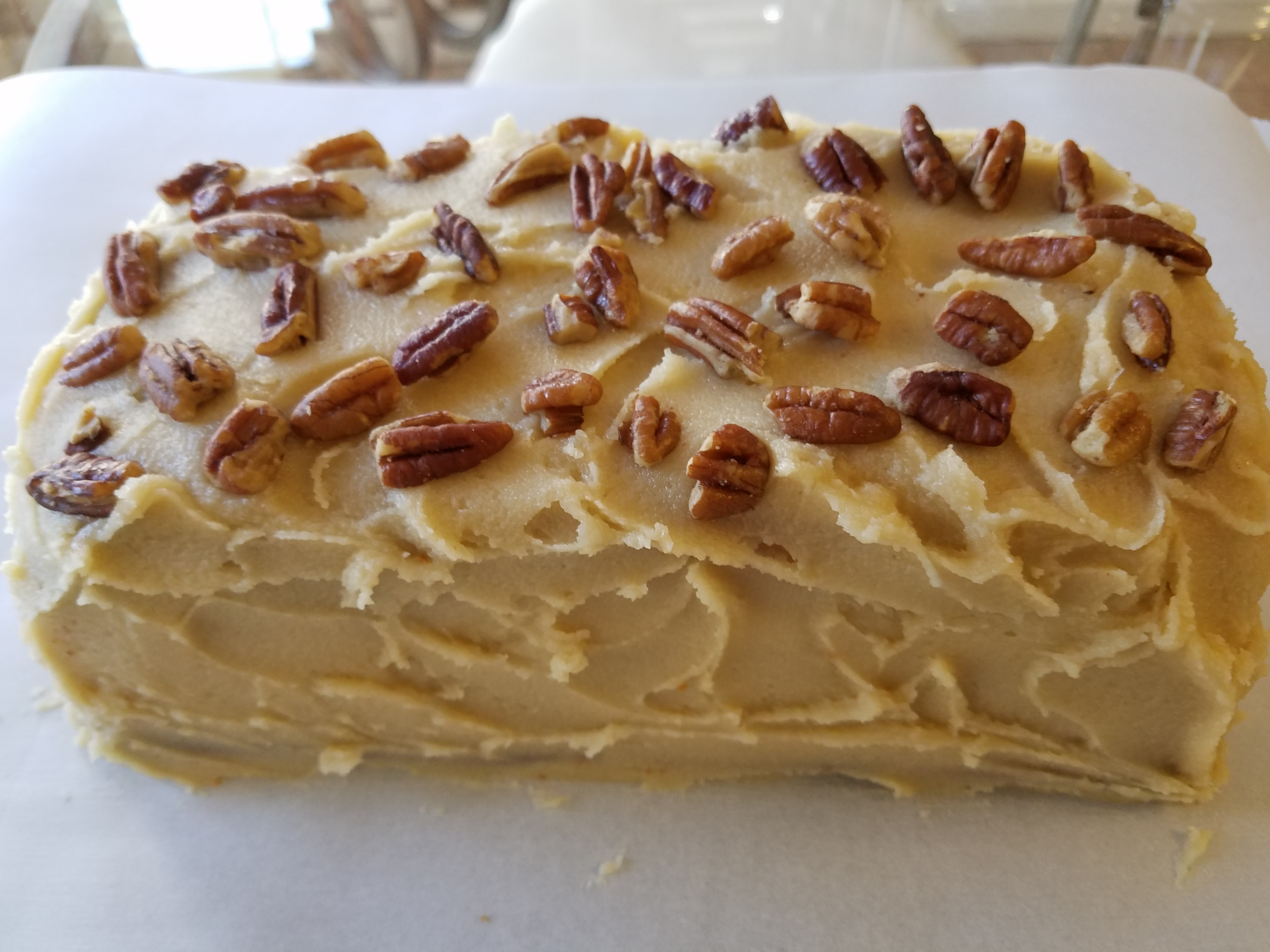 Butter Pecan Mini Loaf