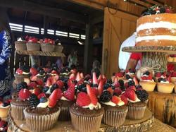 Chocolate Lovers Wedding Cupcakes