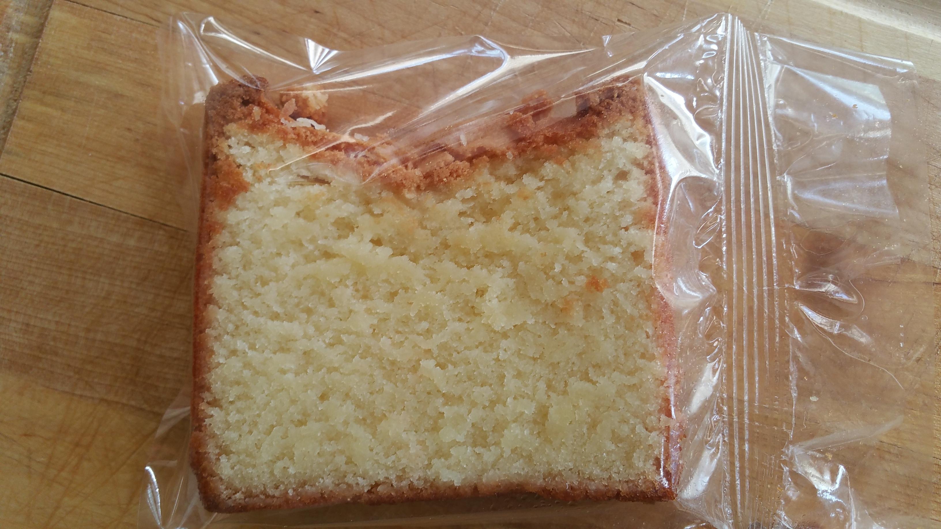 Gluten-free slice
