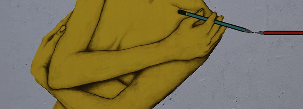 Yellow nude no. 2