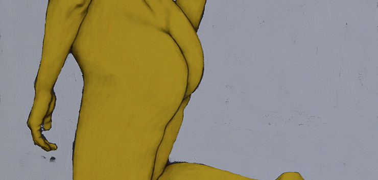 Yellow Nude No1