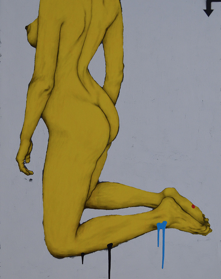 Yellow Nude No1