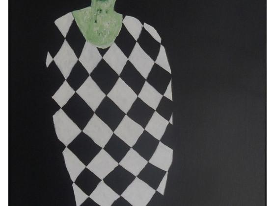 A lady in Diamond cloth No1.jpg