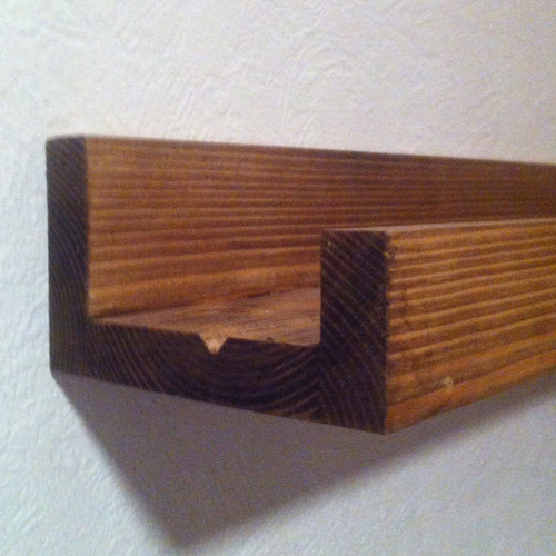Solid Wood Picture Ledge Made to Measure