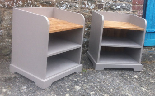 I Am Pleased To Offer For Sale This Pair Of Bespoke Handmade Storage Seats.  This Item Was Originally Commissioned As A Custom Made Order By A Customer.