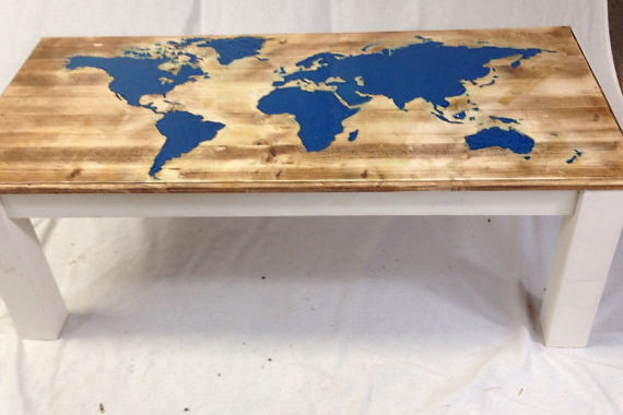 Marvelous This World Map Glow In The Dark Coffee Table Has Already Won Awards. Hand  Made And Hand Carved To Your Dimensions A Special Resin Is Used To Create  The Glow ...