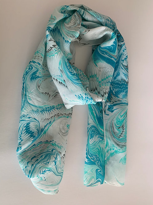 silk scarf #8