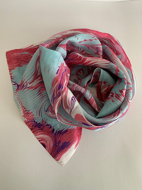 silk scarf #21
