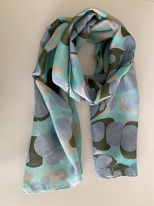silk scarf #4 custom for elaine
