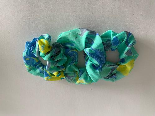 set of 3 hair scrunchies, design #311