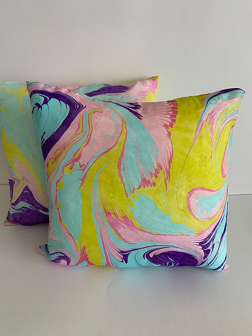 silk pillow cushion cover set #1