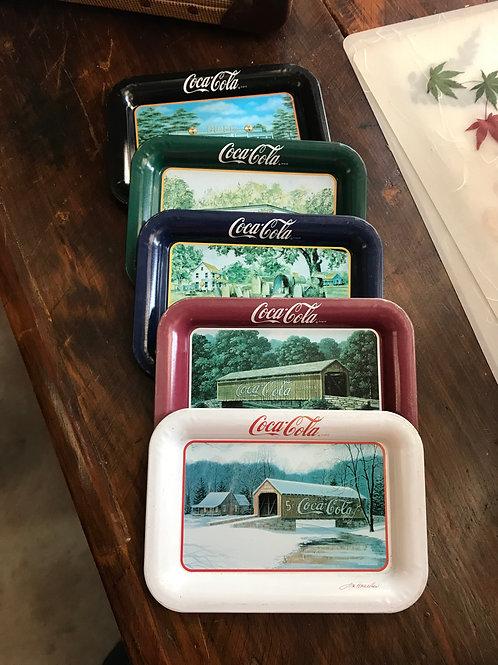 Coca Cola Tip Trays