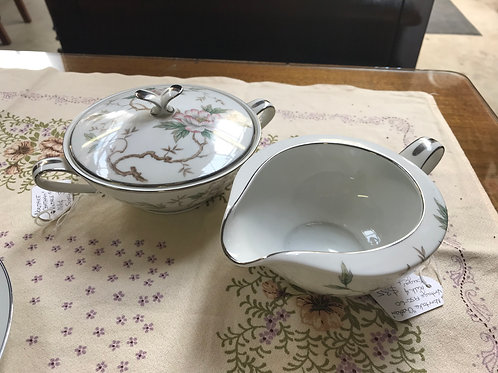 "Vintage Noritake ""Chatham"" Milk and Sugar set"