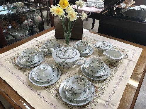 "Vintage 1950's Noritake ""Chatham"" Tea Set"