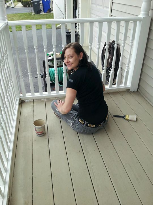 Who needs a clean fresh coat of paint or stain for their deck for this fresh new spring__ Call me!!!