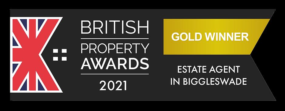 British Property Awards 2021 Gold winner in Biggleswade