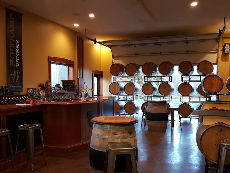 Holtkamp Winery Tasting room