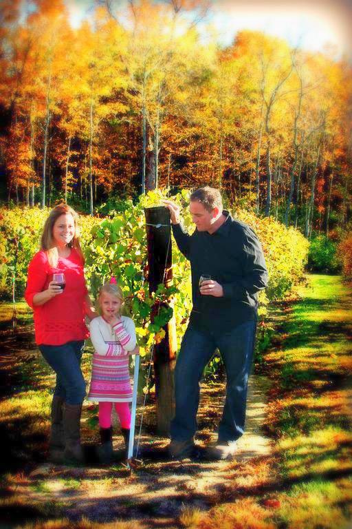 Doug, Julie, & Avery Holtkamp