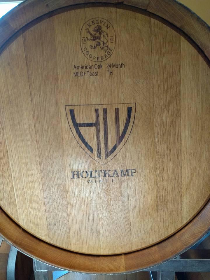 Holtkamp Winery barrels