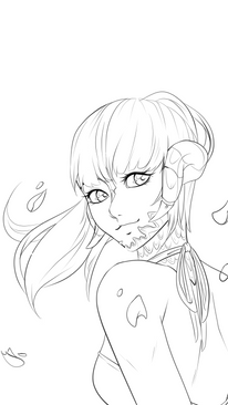 Bust Shot Lines Example