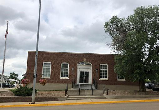 Hettinger, ND Post Office, Adams County