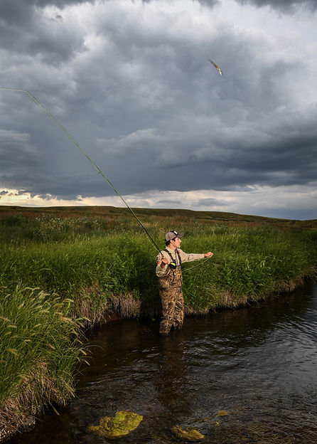 Fishing in Adams County ND