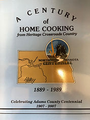 A Century of Home Cooking, Adams County ND